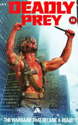 Deadly Prey - 27 x 40 Movie Poster - UK Style A