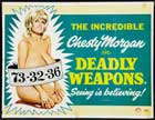 Deadly Weapons - 11 x 17 Movie Poster - UK Style A