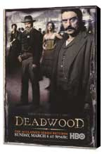 Deadwood (TV) - 11 x 17 TV Poster - Style K - Museum Wrapped Canvas