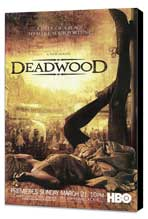 Deadwood (TV) - 27 x 40 TV Poster - Style B - Museum Wrapped Canvas