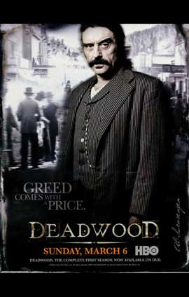 Deadwood (TV) - 11 x 17 TV Poster - Style B