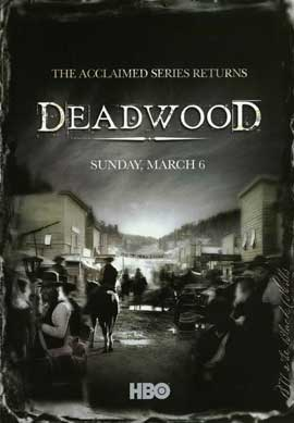 Deadwood (TV) - 11 x 17 TV Poster - Style C