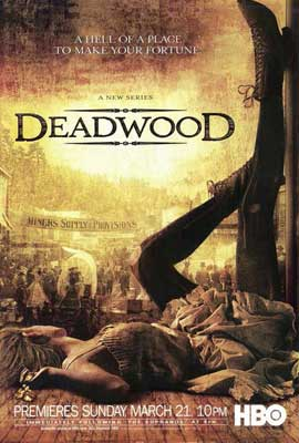 Deadwood (TV) - 27 x 40 TV Poster - Style B