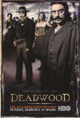 Deadwood (TV) - 27 x 40 TV Poster - Style D