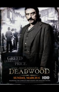 Deadwood (TV) - 43 x 62 TV Poster - Style A