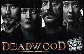Deadwood (TV) - 11 x 17 TV Poster - Style M