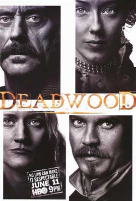 Deadwood (TV) - 11 x 17 TV Poster - Style N