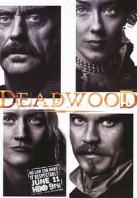 Deadwood (TV) - 43 x 62 TV Poster - Style B
