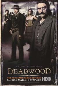 Deadwood (TV) - 43 x 62 TV Poster - Style C
