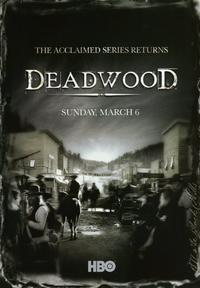 Deadwood (TV) - 43 x 62 TV Poster - Style F