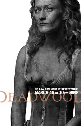 Deadwood (TV) - 11 x 17 TV Poster - Style O