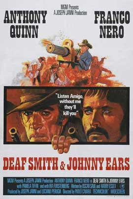 Deaf Smith and Johnny Ears - 11 x 17 Movie Poster - UK Style A