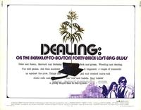 Dealing: Or the Berkeley-to-Boston Forty-Brick Lost-Bag Blues - 11 x 14 Movie Poster - Style A