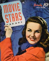 Deanna Durbin - 27 x 40 Movie Poster - Movie Stars Parade Magazine Cover 1940's