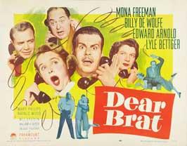 Dear Brat - 11 x 14 Movie Poster - Style B