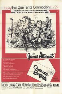 Dear Brigitte - 11 x 17 Movie Poster - Spanish Style A