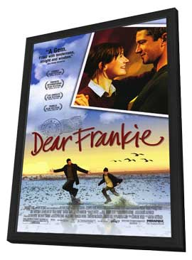 Dear Frankie - 11 x 17 Movie Poster - Style B - in Deluxe Wood Frame