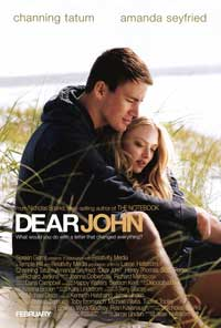 Dear John - 43 x 62 Movie Poster - Bus Shelter Style A