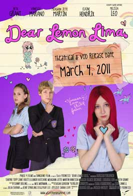 Dear Lemon Lima - 11 x 17 Movie Poster - Style A