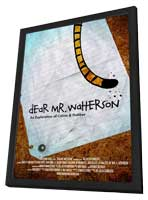 Dear Mr. Watterson - 27 x 40 Movie Poster - Style A - in Deluxe Wood Frame