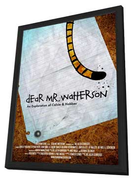 Dear Mr. Watterson - 11 x 17 Movie Poster - Style A - in Deluxe Wood Frame