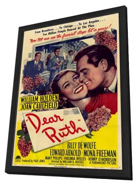 Dear Ruth - 11 x 17 Movie Poster - Style A - in Deluxe Wood Frame
