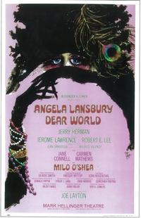Dear world (Broadway) - 11 x 17 Poster - Style A