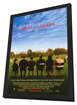 Death at a Funeral - 11 x 17 Movie Poster - Style A - in Deluxe Wood Frame