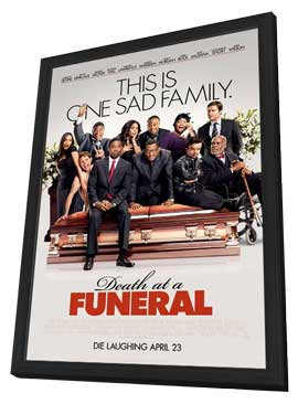 Death at a Funeral - 27 x 40 Movie Poster - Style A - in Deluxe Wood Frame