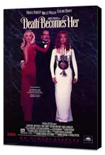 Death Becomes Her - 11 x 17 Movie Poster - Style B - Museum Wrapped Canvas