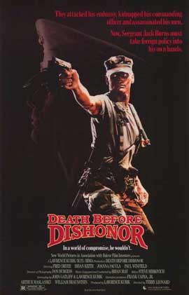 Death Before Dishonor - 11 x 17 Movie Poster - Style A