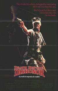 Death Before Dishonor - 27 x 40 Movie Poster - Style B