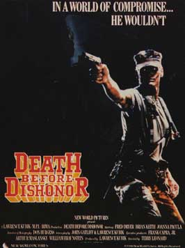 Death Before Dishonor - 11 x 17 Movie Poster - Style B