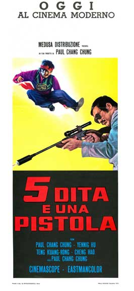 Death Comes in Three - 13 x 28 Movie Poster - Italian Style A