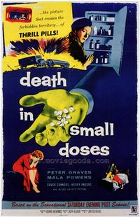 Death in Small Doses - 43 x 62 Movie Poster - Bus Shelter Style A