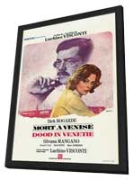 Death in Venice - 27 x 40 Movie Poster - Style A - in Deluxe Wood Frame