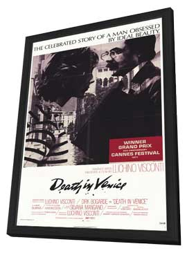 Death in Venice - 11 x 17 Movie Poster - Style C - in Deluxe Wood Frame