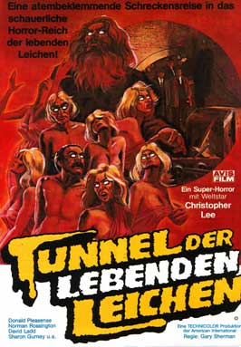 Death Line - 11 x 17 Movie Poster - German Style A