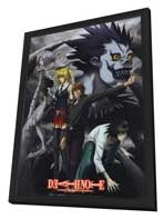 Death Note - 11 x 17 Movie Poster - Japanese Style D - in Deluxe Wood Frame