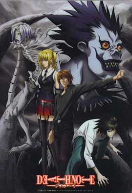 Death Note - 11 x 17 Movie Poster - Japanese Style D