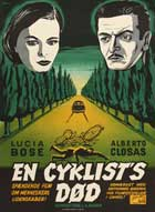 Death of a Cyclist - 11 x 17 Movie Poster - Danish Style A