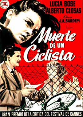 Death of a Cyclist - 11 x 17 Movie Poster - Spanish Style B