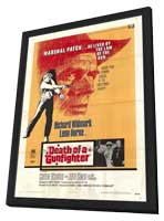 Death of a Gunfighter - 11 x 17 Movie Poster - Style A - in Deluxe Wood Frame