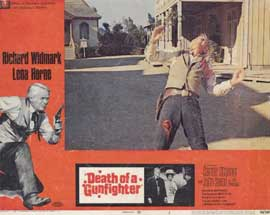 Death of a Gunfighter - 11 x 14 Movie Poster - Style G