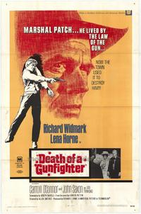 Death of a Gunfighter - 27 x 40 Movie Poster - Style A
