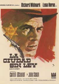 Death of a Gunfighter - 27 x 40 Movie Poster - Spanish Style A