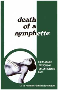 Death of a Nymphette - 11 x 17 Movie Poster - Style A