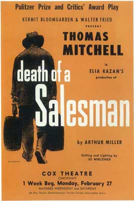 Death Of A Salesman (Broadway) - 14 x 22 Poster - Style A