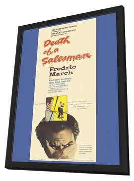 Death of a Salesman - 11 x 17 Movie Poster - Style A - in Deluxe Wood Frame