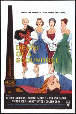 Death of a Scoundrel - 11 x 17 Movie Poster - Style A